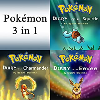 Pokemon: Diaries and Unofficial Stories 3 in 1 Book cover art