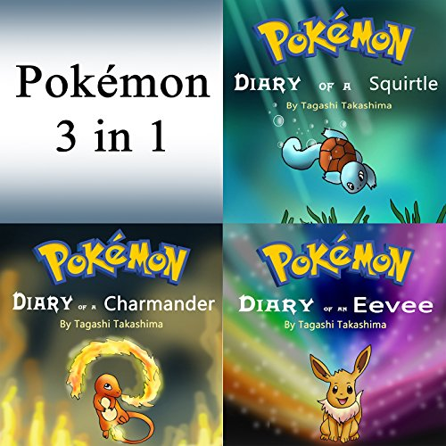 Pokemon: Diaries and Unofficial Stories 3 in 1 Book audiobook cover art