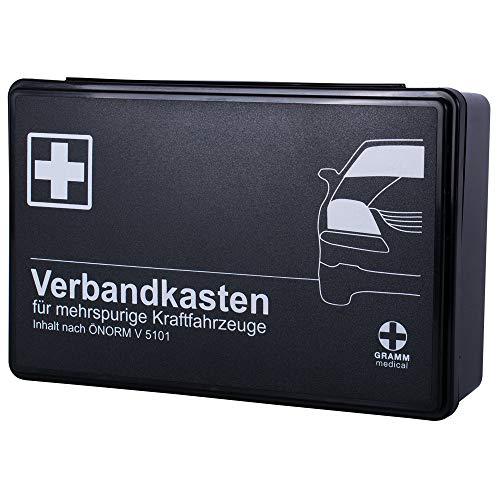 KFZ-Verbandkasten mit ÖNORM V 5101 für mehrspurige Kraftfahrzeuge