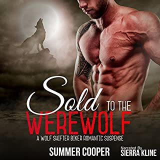 Sold to the Werewolf audiobook cover art