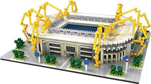 The New Building Block Iduna Signal Park Campo de fútbol Nano Micro Bloques Juguetes de construcción,3800 + Pcs Nano Mini Bloques Juguetes de bricolaje,Rompecabezas 3D Juguete educativo de bricolaje