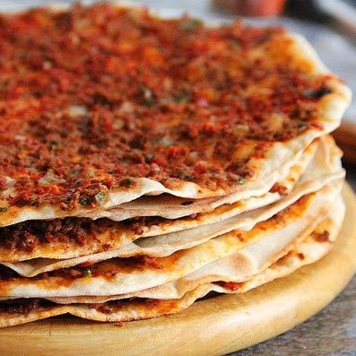 Istanbul Food Bazaar Lahmajun Lahmacun Halal Mild or Hot 10 pcs (Best Lahmacun ever) (Hot)