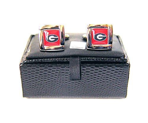 georgia bulldogs cufflinks - 1
