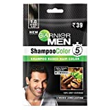 Garnier Garnier Men Shampoo Color Shade 1 Natural Black, 10ml+10ml