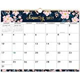 """2021-2022 Calendar - Wall Calendar with Colorful Monthly Page, Jan 2021 - June 2022, 15"""" x 11.5"""", Twin-Wire Binding & Large Blocks, Perfect for School, Office & Home Planning"""