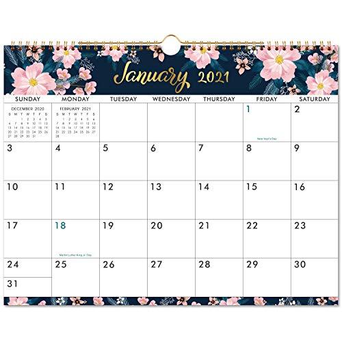 """2021 Calendar - 12 Months Wall Calendar of 2021, Jan. 2021 - Dec. 2021, 15"""" x 11.5"""", Twin-wire..."""