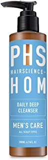 PHS HAIRSCIENCE HOM Daily Deep Cleansing Shampoo, 200 milliliters
