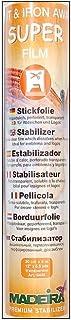 Madeira Super Film Stickvlies Transparent