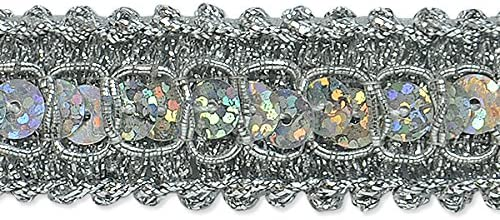 Fixed price for sale Expo International Tia Recommended Sequin Embellishment Braid Trim Metallic