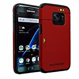 Galaxy S7 Case, DURARMOR [ Pokedex Dual Layer Hybrid Shockproof Ultra Slim Fit Armor Bumper Air Cushion Defender Drop Protection Case Cover
