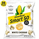Smart50 Popcorn, White Cheddar, 0.5oz Bags (Pack of 36)Packaging May Vary