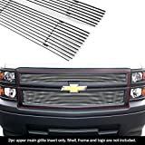 APS Compatible with 2014-2015 Chevy Silverado 1500 Billet Grille Inserts S18-A05956C