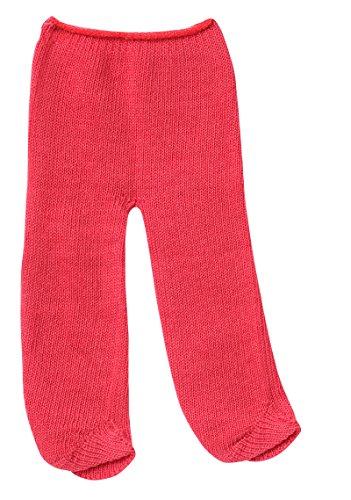 Schwenk Puppenkleidung, elastische Puppen Strumpfhose in rot (30 - 33 cm)