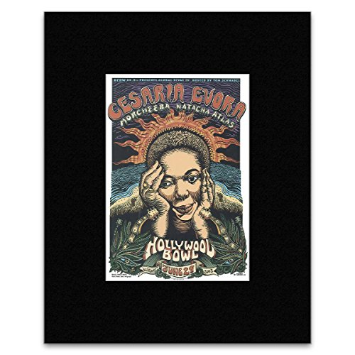 Stick It On Your Wall Mini-Poster Cesaria Evora Hollywood Bowl 2003, 28,2 x 19,5 cm