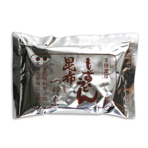 (有)セイワ食品 もずくうどん 昆布仕立てのつゆの素 80ml
