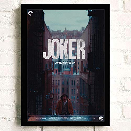 PCCASEWIND Noframe Painting 50X70Cm,Joker Joaquin Phoenix Heath Ledger Movie Comics Wall Art Painting Print On Canvas Bar Room Poster Pictures Home Decor -Hd1302