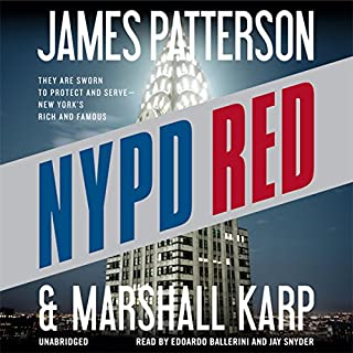 NYPD Red audiobook cover art