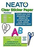 Printable Transparent Sticker Paper - 8.5