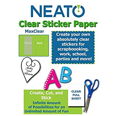 clear sticker paper, End of 'Related searches' list