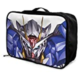 Gundam Travel Lage Bolsa de viaje ligera maleta portátil Bolsas para mujeres hombres niños impermeable grande Bapa Caity