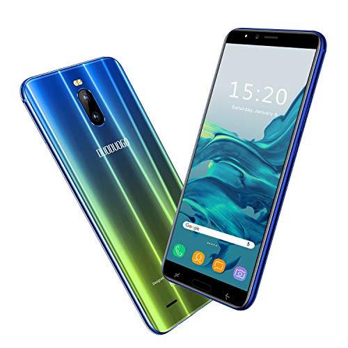 2020 Moviles Libres 4G, Teléfono Móvil de 6.0'' Pulgadas 18:9 HD 3GB RAM 16GB ROM/64GB Android 8.1 Quad-Core Smartphone Libres 4800mAh Batería Dual SIM Dual Cámara 8MP Face ID(Oro)