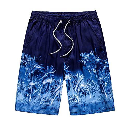 BWHNER Pantalones cortos de playa para hombre con bolsillos, pantalones cortos de secado rápido, pantalones cortos deportivos impermeables, para vacaciones, correr, pelota de deportes