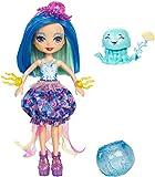 Enchantimals Muñeca con mascota acuática Jessa Jellyfish (Mattel FKV57) , color/modelo surtido