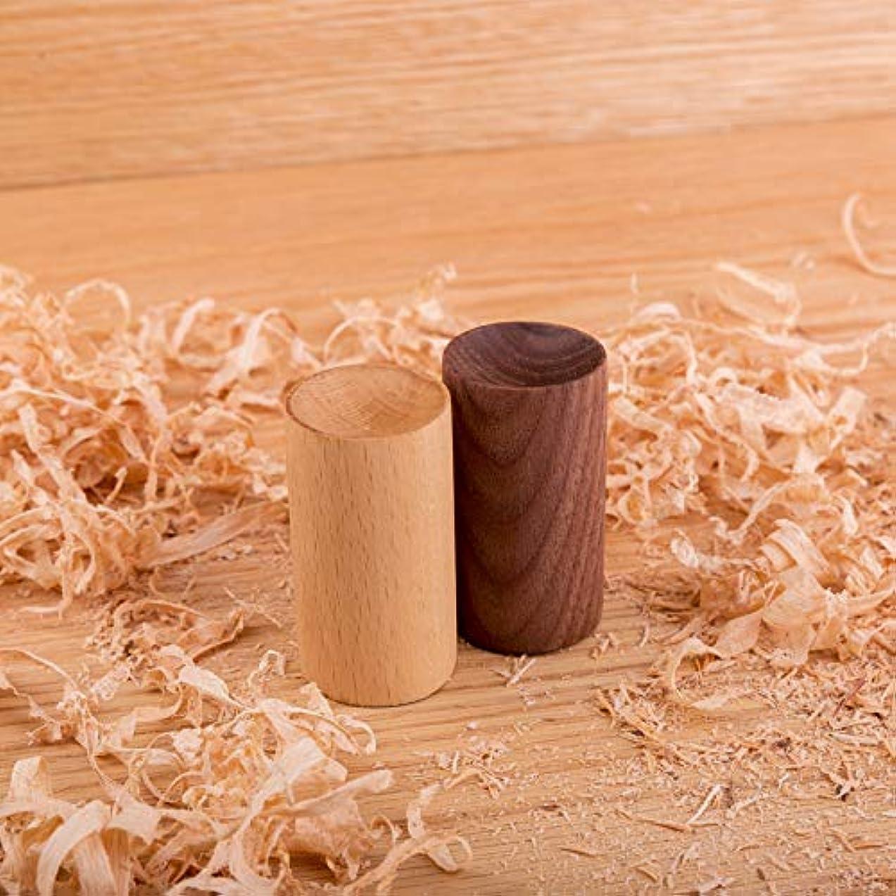 行動失う綺麗な3SLIFEアロマディフューザー オイルホルダー アロマディッシュ木目 アロマ皿 木製アロマポット (クルミ)