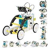 Seckton 13-in-1 STEM Kids Solar Robot Kit, Toddler Outdoor Toys Summer, Best Birthday