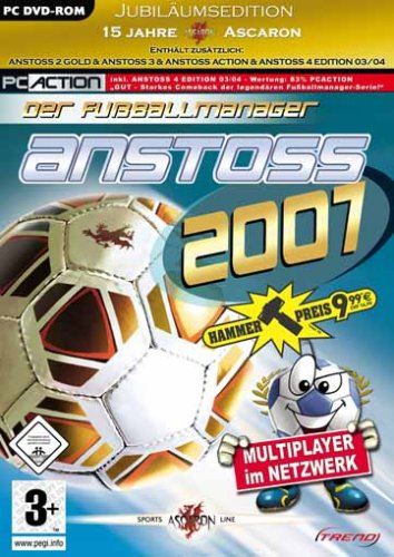 Anstoss 2007: Der Fußballmanager - Jubiläumsedition [Hammerpreis]