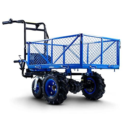 Landworks Utility Service Cart Wheelbarrow Power...