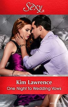 One Night To Wedding Vows by [KIM LAWRENCE]