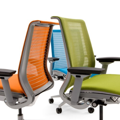 Steelcase Think 3D Licorice Mesh Fabric Chair