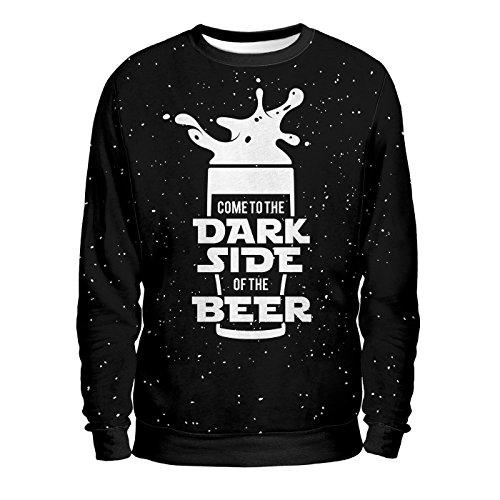 BTD Beer To Dream - Felpa Uomo - Dark Side