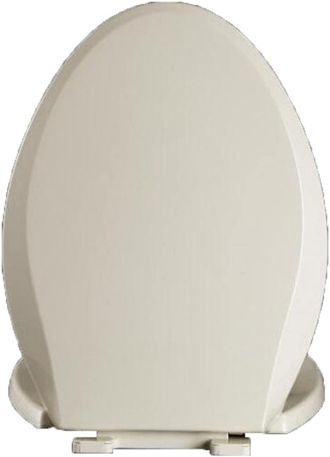 Toilet Seat V-Style Toilet Lid with Slow Down Easy to Install Toilet Seat Cover for Bathroom and washroom