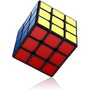 Vdealen Speed Cube, Cubo Puzzle 3x3 cubo Senza Adesivo con Nuova Struttura Anti-Pop