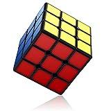 Vdealen Speed Cube, Cube de Puzzle sans Autocollant avec 3 x 3 Cubes et Nouvelle Structure Anti-Pop