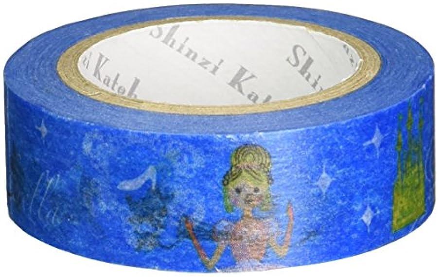 SEAL-DO Shinzi Katoh Washi Masking Tape, 15mm x 10m, Cinderella (ks-mt-10038)