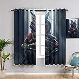 Sdustin Cortinas de salón Star-Wars de 183 x 245 cm, cortinas opacas con aislamiento térmico y oscurecimiento