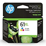 Get HP 61XL | Ink Cartridge | Works with HP Deskjet 1000 1500 2050 2500 3000 3500 Series, HP ENVY 4500 5500 Series, HP Officejet 2600 4600 Series |Tri-color | CH564WN Just for $43.89