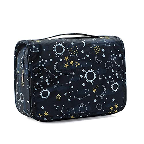 ITraveller Portable Hanging Toiletry Bag/Portable Travel Organizer Cosmetic Bag for Women Makeup or Men Shaving Kit with Hanging...