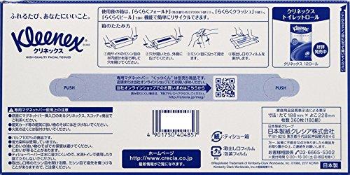 日本製紙クレシア クリネックス クリネックスティシュー 180組 5個×1パック