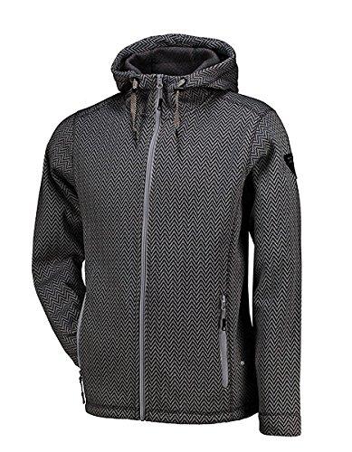 Kjelvik Knitwear Strickfleece Jacke Herren Größe L