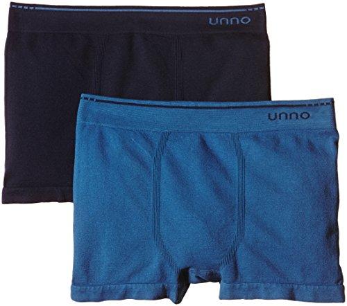 Unno Herren Auuh102 Boxershorts, Marine/blau, L