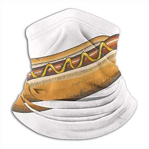 Preisvergleich Produktbild NA Hot Dog Food and Drink Ski Mask Cold Weather Face Mask Neck Warmer Fleece Hood Winter Hats