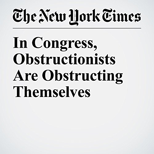 In Congress, Obstructionists Are Obstructing Themselves copertina
