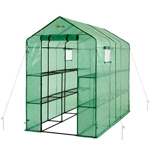 OGrow Extra Large Heavy Duty Garden Greenhouse