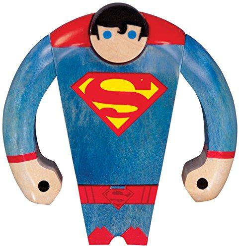 DC Comics Superman Wooden Action Figure