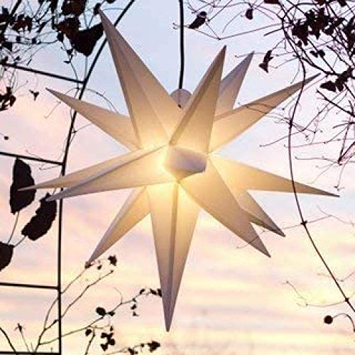 Estrella luminosa plegable de 55 cm, estrella de explosión de Navidad, no requiere transformador! Luces de decoración navideñas, luces de estrella, estrellas que vienen de extranjeros