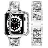 Wutwuk Correa Apple Watch Brillo Diamantes Correa Apple Watch de...